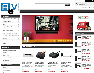 e-Commerce Site for AV-Online