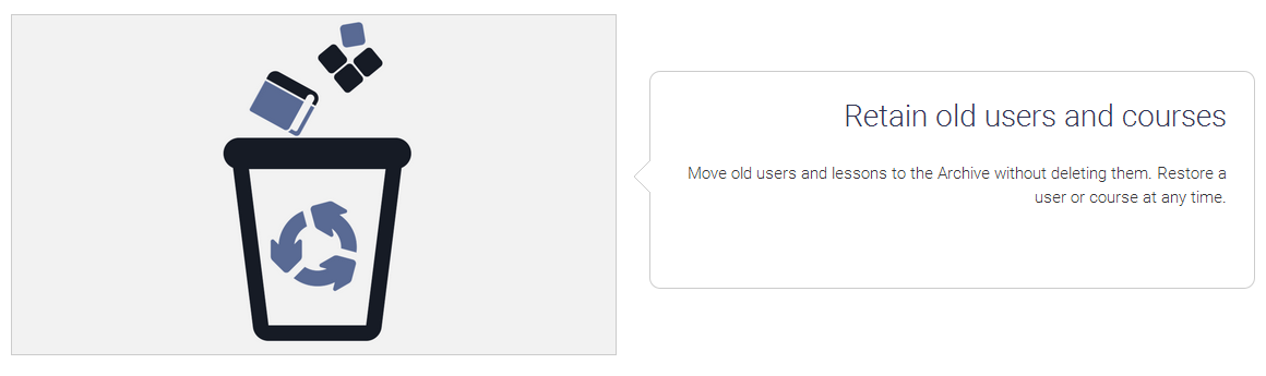 Retain Old Users and Courses